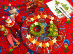 赤ちゃんもご機嫌に!「ツリーとリースの離乳食クリスマスプレート」#06