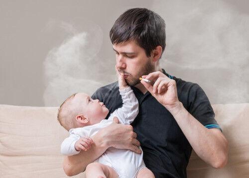 タバコと「子どもの食物アレルギー」に関係があるかも?