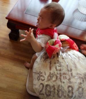 なにこれチョー可愛い!1歳のバースデーは一升餅ならぬ「一升パン」がオススメ!