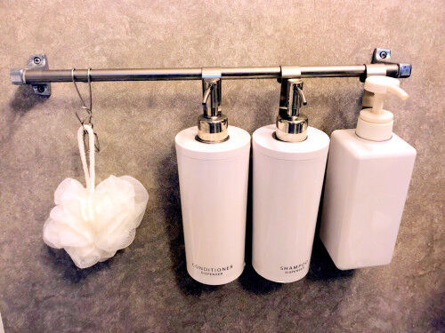 プロが実践!【お風呂場のカビ対策】セリアを活用した「吊るす収納法」