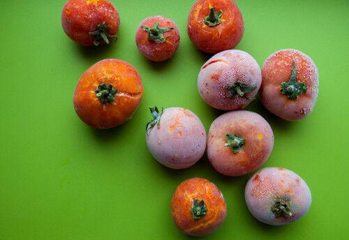 <9~10ヶ月>湯むき不要!「冷凍トマト」レシピ【フリージング離乳食】#03
