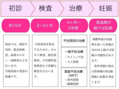 【産婦人科医が語る】不妊治療の種類4つと治療の流れと期間 #03