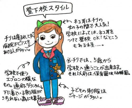 「女の子には猫耳が大人気!」チリのファッション【女の子編】