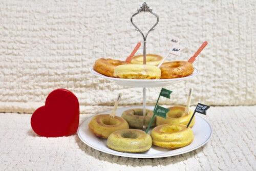 甘いものが苦手なパパに♡野菜を使った「焼きドーナツ」バレンタイン