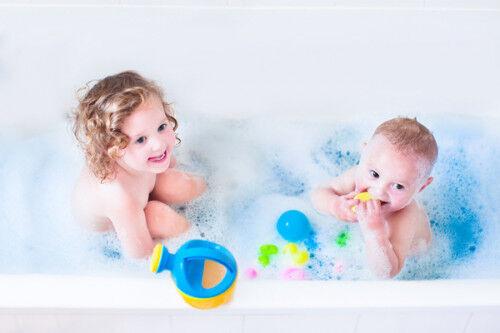 子ども2人と「ワンオペお風呂」!楽に乗り切るオススメテクとは