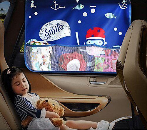 GW車での移動時に!子どもを紫外線から守る遮光サンシェード10選
