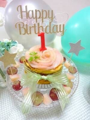 乳・卵・小麦アレルギー対応も!1歳・2歳・3歳「バースデーケーキ」アイディア♡