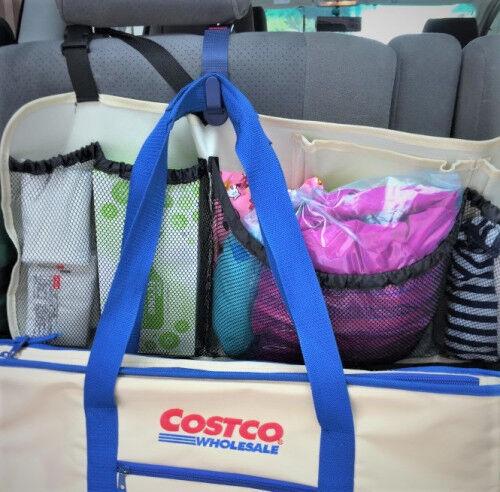 セリア&コストコグッズで便利に!「車の荷物スペースを有効活用する」コツ