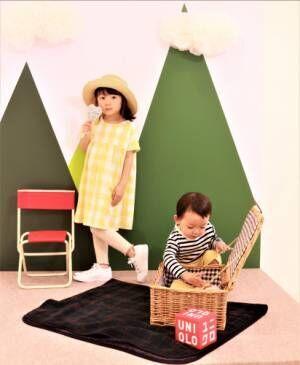 ユニクロキッズ新作春夏ファッション×亀恭子のおしゃれコーデ♪