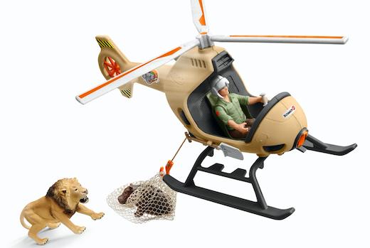 動物たちは僕が守る!レンジャーになりきって空と陸から動物を救おう