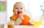 食事をひっくり返して大惨事を解決!テーブルにピタッとくっつく幼児用プレート