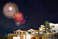 ロマンチック♡ホテルの部屋から見られる冬の花火大会