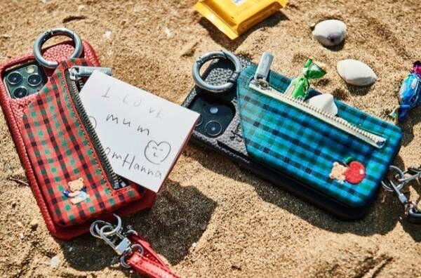 子どもとおそろいにできそう♡かわいすぎるスマホケース&トートバッグ