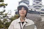 熊本地震から1年、熊本城修復に取り組む27歳女性の決意