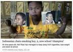 2歳で1日にタバコ40本……あのインドネシア人少年は今
