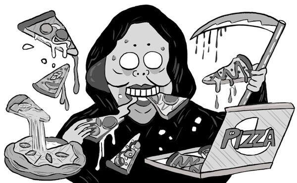 【ポップな心霊論】「ピザを届けに行ったら、死神に会った」