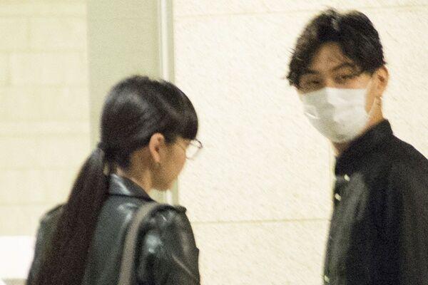 本誌の直撃にも笑顔で答えてくれた松田。