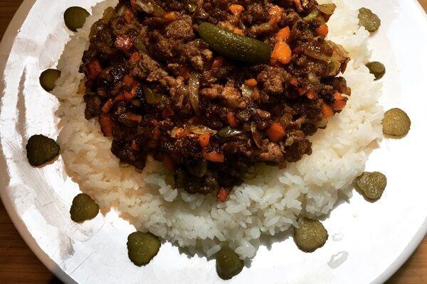 ドライカレー(辻仁成「ムスコ飯」第220飯レシピ)