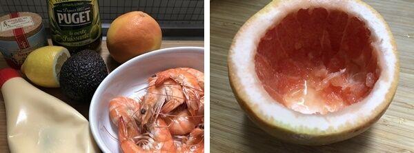 海老とグレープフルーツのカクテル(辻仁成「ムスコ飯」第223飯レシピ)