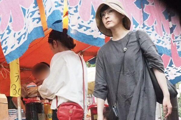 7月下旬都内で開かれたお祭りに現れた麻生。