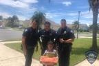 「ピザをお願い」と警察に電話 3歳児がもらったものとは