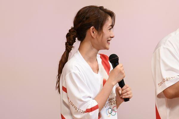 2018年7月24日「東京2020オリンピック」1年前イベントより。