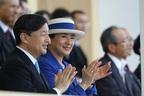 雅子さま 愛子さま運動会当日にブルーのスーツご着用の理由