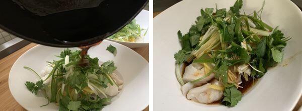 中華風蒸し魚(辻仁成「ムスコ飯」第236飯レシピ)