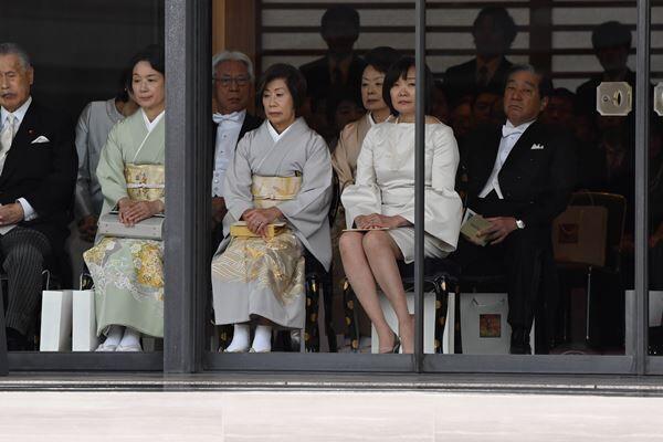 10月22日、即位礼正殿の儀に参列した昭恵さん。