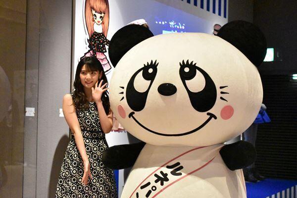 道重さゆみ「夢みたい」と歓喜 内藤ルネ展が聖地・岡崎で開催
