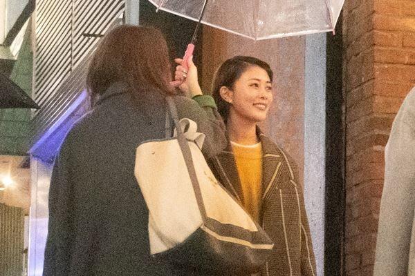 昨年3月、主演ドラマ『メゾンドポリス』の打ち上げに参加した高畑。