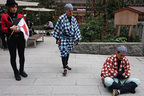弥次さん喜多さんと日本橋をお散歩♪没入型街歩きツアーを体験