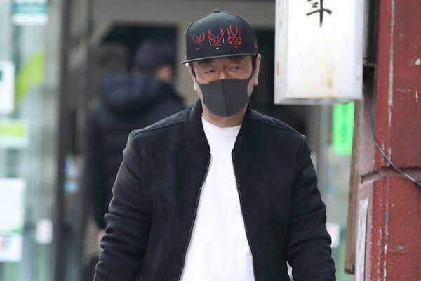 """2月28日、志村はさっそく行きつけの""""高級スパ""""へ。"""