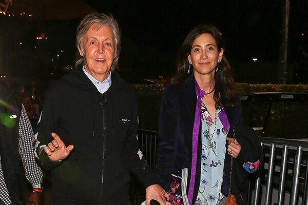 マッカートニーは英サセックス、妻ナンシー・シュヴェルは米ニューヨークで離ればなれの生活を送っている(写真:Backgrid/アフロ)