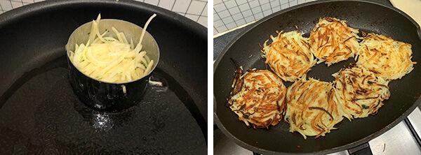 ジャガ芋のガレット(辻仁成「ムスコ飯」第261飯レシピ)