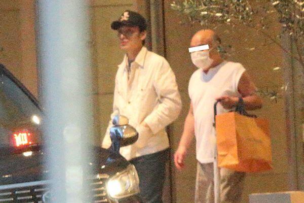 草なぎの誕生日当日に一緒に出てきた寿司店の大将。