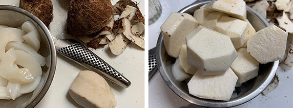 イカと里芋の煮物(辻仁成「ムスコ飯」第279飯レシピ)