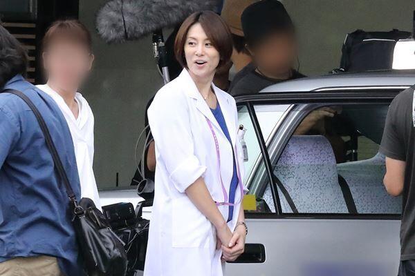 17年、『ドクターX』撮影現場で目撃した米倉。