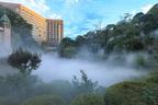 東京の歴史あるホテル「椿山荘」で幻想的な庭園景色を