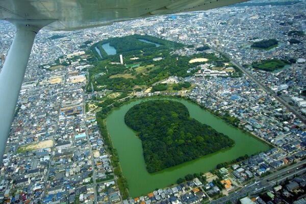 今年だけで総額20億円が出ている大阪府南部の世界遺産「百舌鳥・古市古墳群」周辺