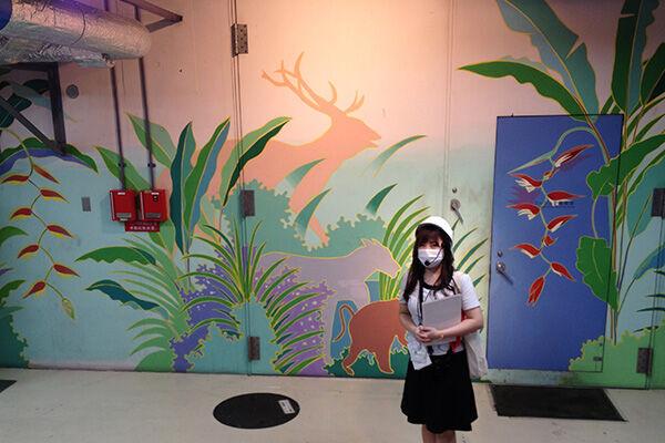 機械を動物にたとえた看板でユニークに紹介する機械室「マシンズー」