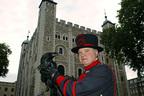 """ロンドン塔の""""カラスの女王""""が姿くらます"""