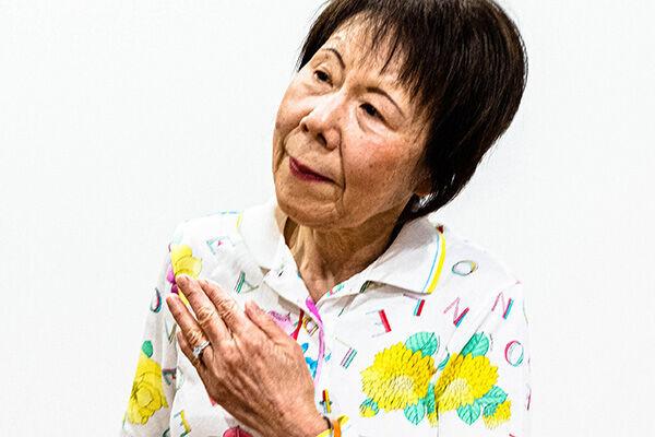 80代になったいまも現役で、看護専門学校の教壇に立ち続けている小池妙子さん