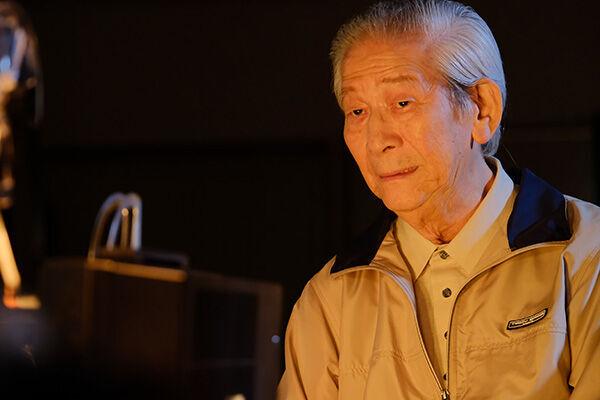 18年10月、小松政夫さん「モルエラニの霧の中」出演シーンより