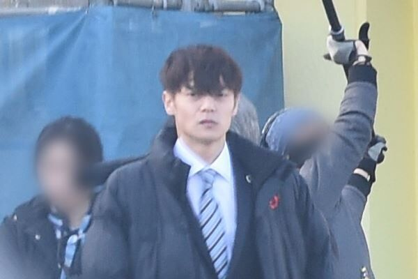 昨年12月、千葉県内のロケに臨んでいた窪田正孝