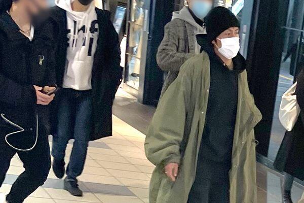 解散発表直前の3月、仕事から帰京した森田