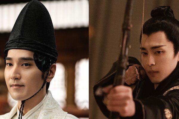 晴明を演じるマーク・チャオ(左)と博雅を演じるダン・ルン(右)。凛々しく整ったお顔立ち。