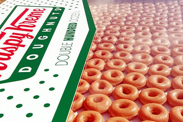 (写真:Krispy Kreme Occasions/Solent News/アフロ)
