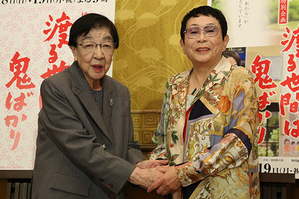 「夫が亡くなった時も」橋田壽賀子さんと石井ふく子氏の60年