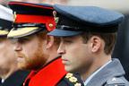 「ウィリアムとハリー並ばずに」フィリップ王配葬儀で女王指示